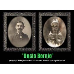 """Uncle Bernie 5""""x7"""" Changing Portrait"""