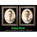 "Granny Hazel 5""x7"" Changing Portrait, Series Two"