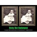 "Baby Bartholomew 5""x7"" Changing Portrait, Series Two"