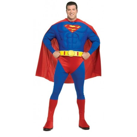 Superman Muscle Chest Adult Plus Costume