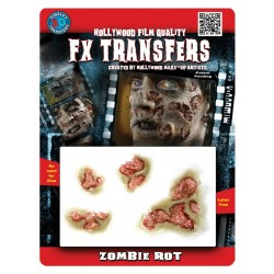 3D Zombie Rot FX Transfer/Tattoo