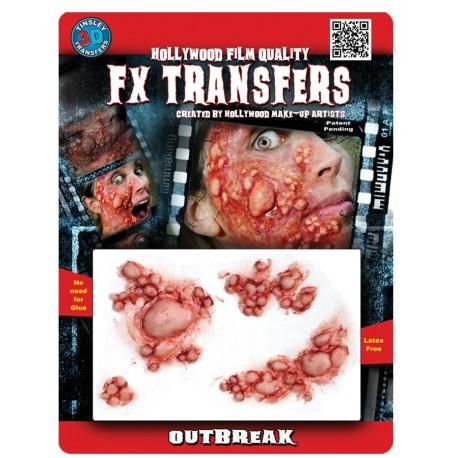 3D Outbreak FX Transfer/Tattoo