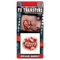3D Teeth Decay Fx Transfer/Tattoo