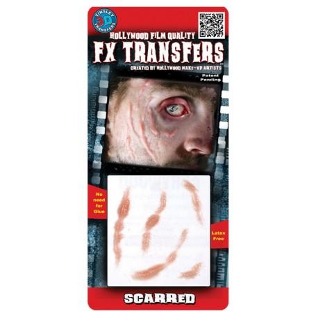 3D Scarred FX Transfer/Tattoo