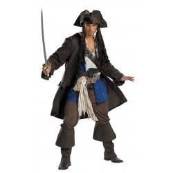 Captain Jack Sparrow Deluxe Costume - Teen