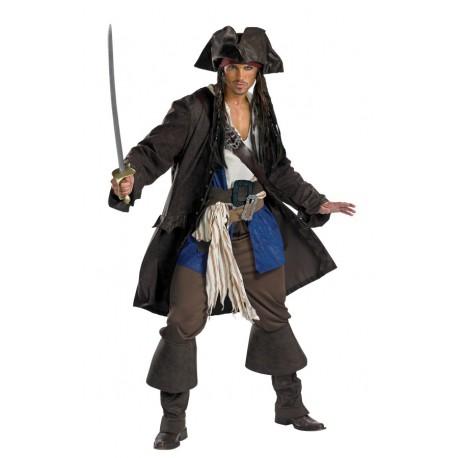 Captain Jack Sparrow Deluxe Costume - Teen