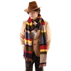 4th Doctor Deluxe Long Scarf 12ft.