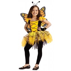 Ballerina Butterfly Yellow Child