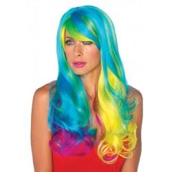Rainbow Prism Wig