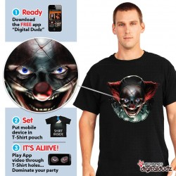 Freaky Clown Eyes T Shirt