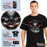 Freaky Clown Eyes T Shirt