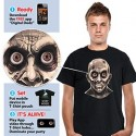 Frantic Zombie Eyes T-Shirt - Digital Dudz