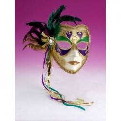 Mardi Gras  Mask - Venetian Full