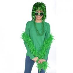 Mardi Gras - Green Boa
