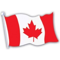 Canada Flag Cut Out