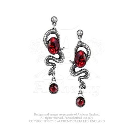 Serpent's Eye Earrings