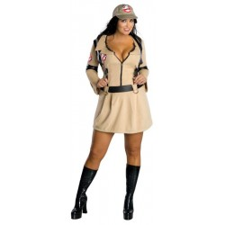 Female Ghostbusters Costume-Plus size