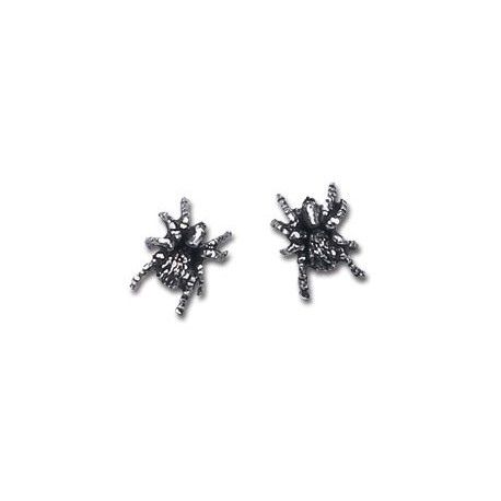 Black Widow Stud Earrings (pair)