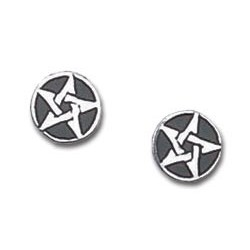 Pentanior Stud Earrings (pair)