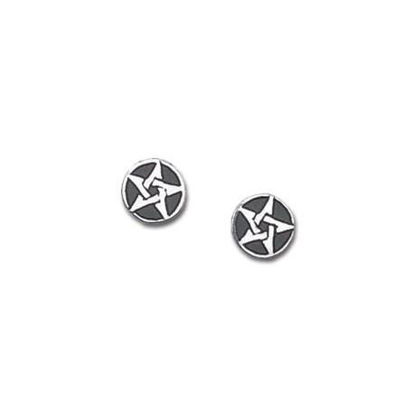 Pentanior Stud Earrings (pair)
