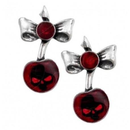 Black Cherry Earrings