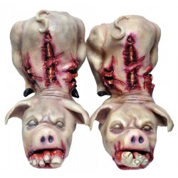 Latex Horror Pig Boots
