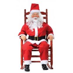 Animated Rocking Santa