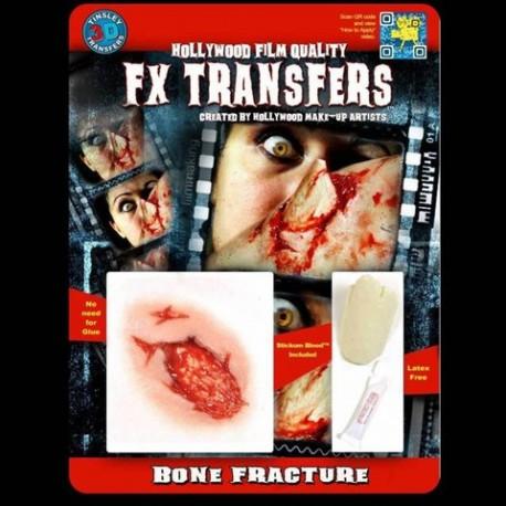 3D Exit Wound FX Transfer/Tattoo
