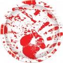 Bloody Handprint Plates