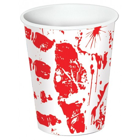 Bloody Handprint Cups