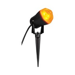 LED Short Circuit Outdoor Light - Orange Light