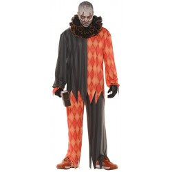 Evil Clown Costume - Adult