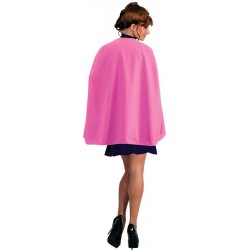 Pink Superhero Cape - Adult 36 inches