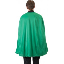 Green Superhero Cape - Adult 36 inches