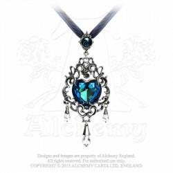 Empress Eugene's Blue Heart Necklace