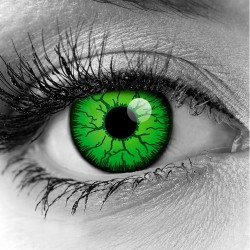 Hulk Green Contact Lenses - Gothika