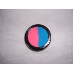 Eye Shadow - Neon Pink Blue Split