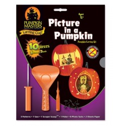 Picture in a Pumpkin Carving Kit